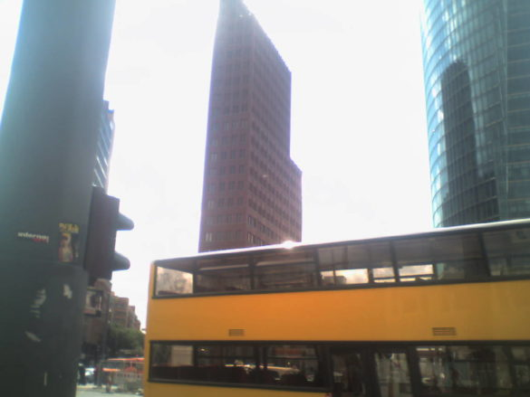 Berlin Bus Foreground